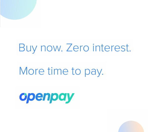 Buy now. Zero interest. More time to pay.